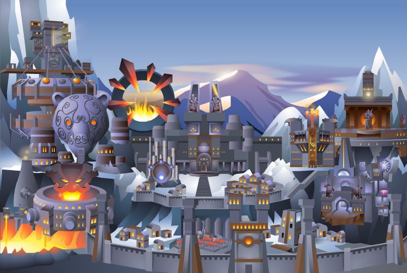 Замок гномов